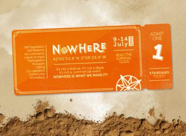 Die Eintritskarte zu Nowhere